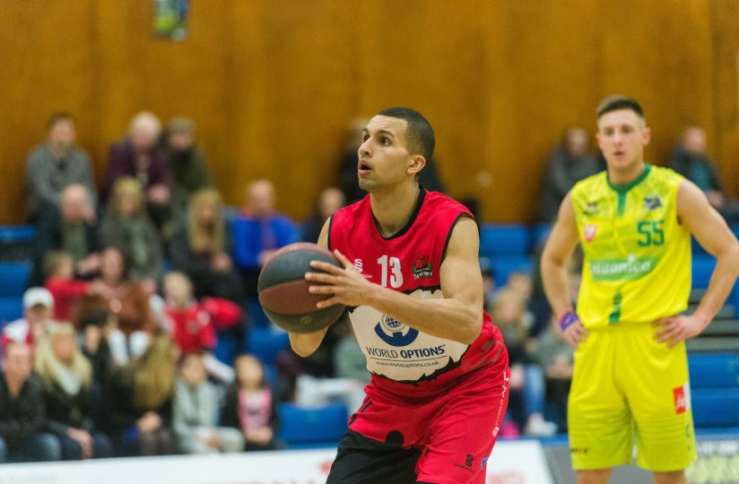SPINNERS EDGED BY BRADFORD 102-96